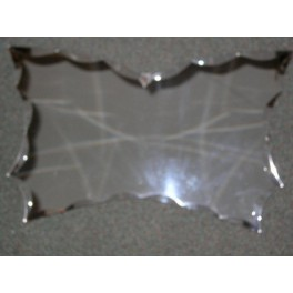 Unusual Art Deco English Butterfly shaped wall Mirror