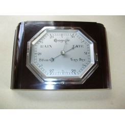 Excellent English Bakelite wall barometer