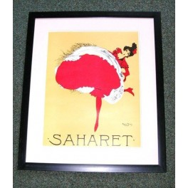 Can Can Dancer lithograph by Maurice Biais