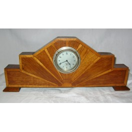 Art Deco 8 Day Mantle Clock By Smiths