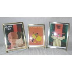 Set of 3 Simple Simon EPNS photo frames