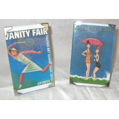 Pair of small Art Deco photo frames