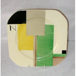 Susie Cooper Plate In The Geometric Pattern