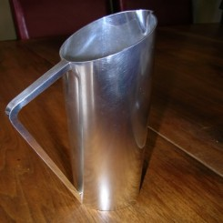 Silver plate french water jug possibly from a liner of the 1930's