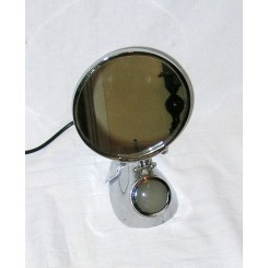 Art Deco illuminated makeup mirror by Pifco