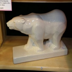 White craquele polar bear by odyv