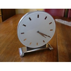 Excellent english modernist clock with (8) day movement
