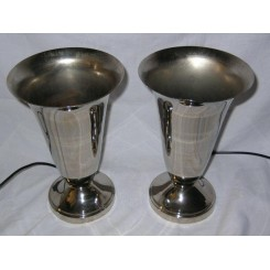 Pair of Modernist lamps
