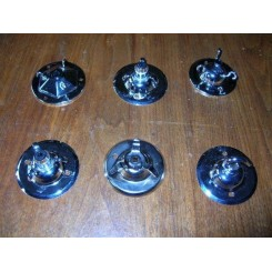 Choice of Chrome Ceiling Roses to hang that Special Light
