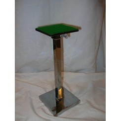 Good Art Deco adjustable height hat stand