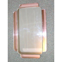 Good English oblong bi-coloured  mirror