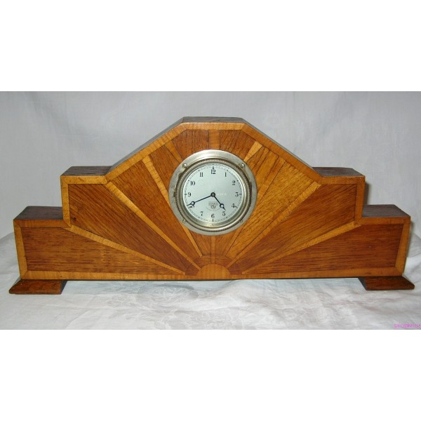 Art Deco 8 Day Mantle Clock By Smiths Deco Dave