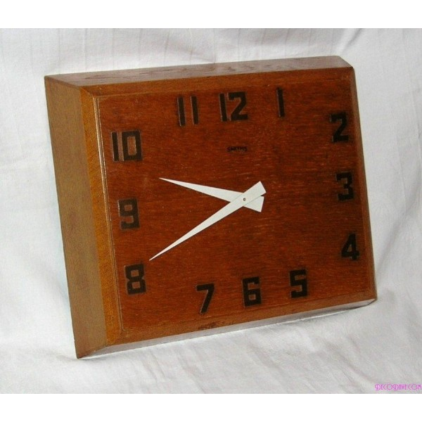 Smiths 8 Day Art Deco Wall Clock Deco Dave