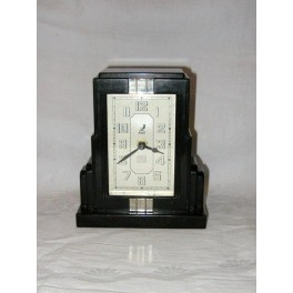 Jaz Bakelite Art Deco Clock