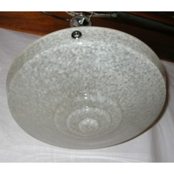 French Stepped Ceiling Light By Clichy