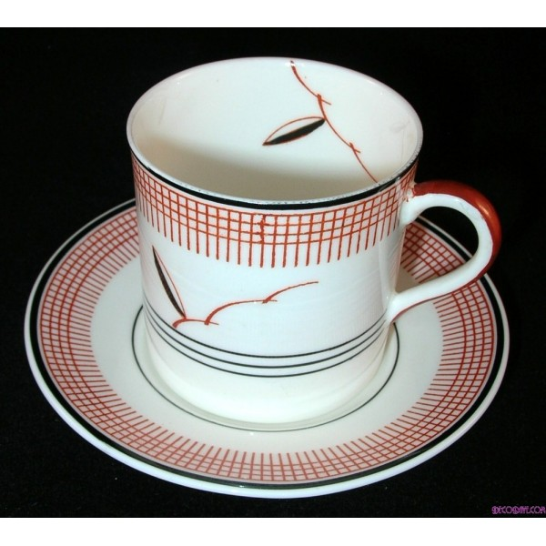 Excellent Art Deco Royal Doulton Coffee Service In The