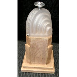 French Art Deco Chrysler Building Style Lamp