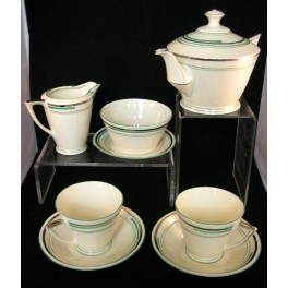 Czech Art Deco Tea For Two Tea Set Deco Dave