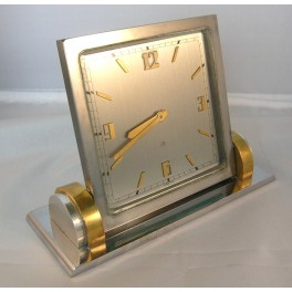 Art Deco Swiss Table Or Mantle Clock