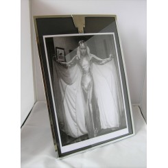 Large Worseley Ware Chrome Art Deco Photo Frame