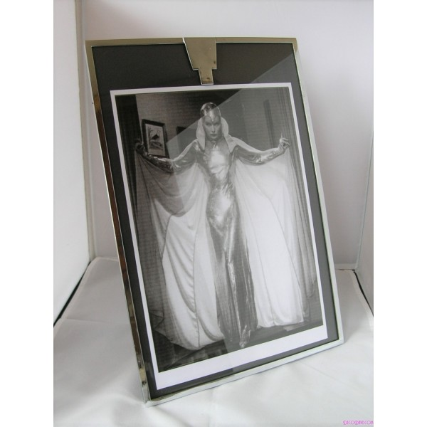 Large Worseley Ware Chrome Art Deco Photo Frame Deco Dave