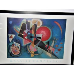 Wassily Kandinsky abstract poster