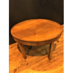 small oval Art deco coffe table by Heals of london