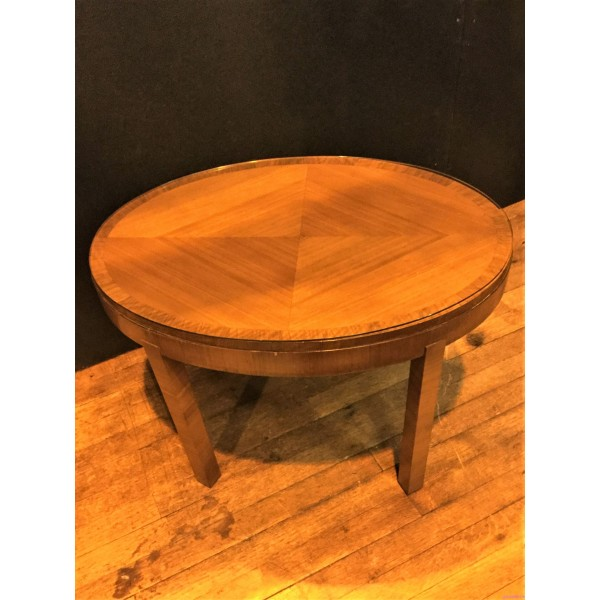 Small Coffee Tables Heals: Small Oval Art Deco Coffee Table By Heals Of London