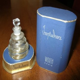 Rene lalique perfume bottle imprudence for worth in original box