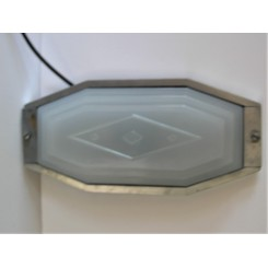 Close Fit Stepped Art Deco Ceiling Light