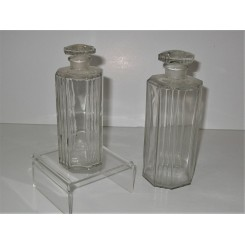 Small And Large Art Deco Perfume Bottles