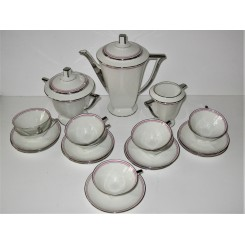 Outstanding Art Deco coffee set by Limoge by Jean Boyer