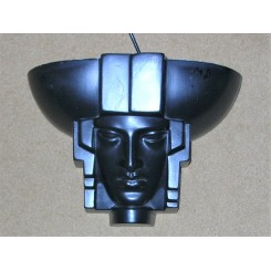 Very Rare Ceramic Art Deco Wall Light By St Clement