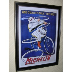 Vintage Michelin tyre poster