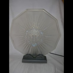 Outstanding verlys opalescent glass table luminaire