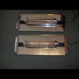 Pair of modernist wall lights from the odeon cinema st ives cambs pair of modernist wall lights from the odeon cinema st ives cambs aloadofball Choice Image