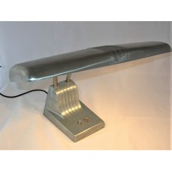 Dazor Modernist industrial aeroplane wing table lamp