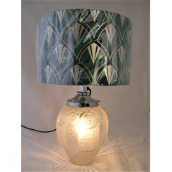 Art Deco French Table Lamp By Andre Hunebelle