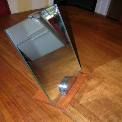 Very unusual table mirror for Ebel watchmakers